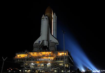 Shuttle Discovery Reached Launch Pad