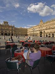 Student Life in Salamanca...