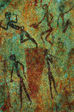 Bushmen Rock Painting<