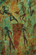 Bushmen Rock Painting<