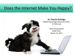 Does the Internet Make You Happy?
