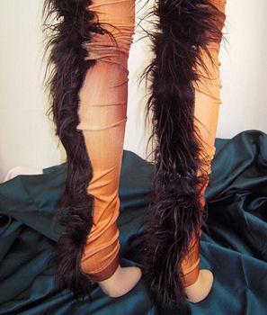 Faux Fur Legs