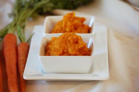 A few more pictures of the spiced carrot dip I made earlier this...