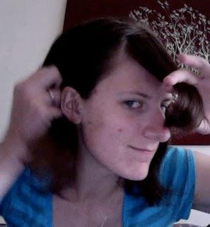Triming my own bangs