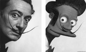Cartoons as Art Masterpieces