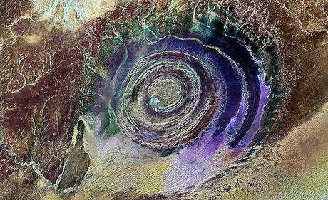 The Richat Structure - Earth's Bull's-Eye