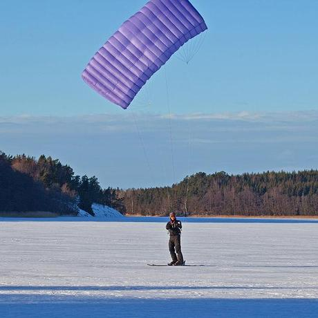 Eric and Sarah McNair-Landry To Kite-Ski The Northwest Passage!
