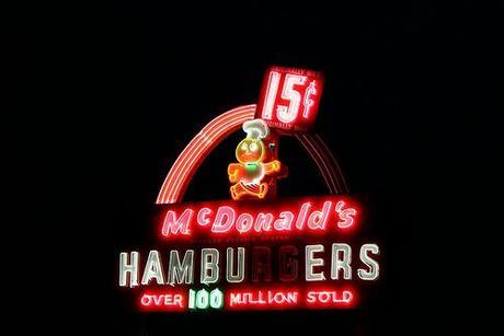 McDonald's Landmark Sign