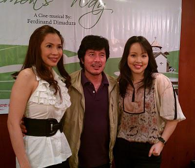 Cocoy Laurel, Cris Villonco et al sing songs from Simon's Way, a new original Filipino musical
