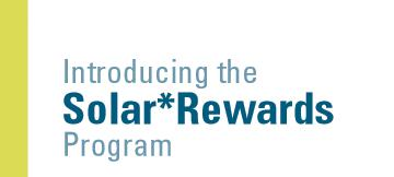 Xcel Energy's Solar*Rewards Rebate Partially Reinstated