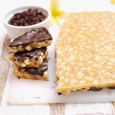 Chocolate Peanut Brittle Boo-Boo