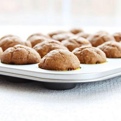 Nutella Banana Mini Muffins