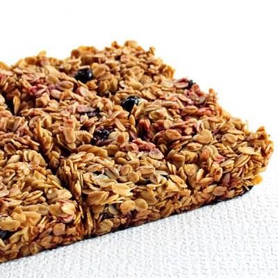 (Not so) Berries oats bars