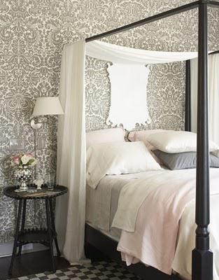 Glamorous but not over the top bedrooms