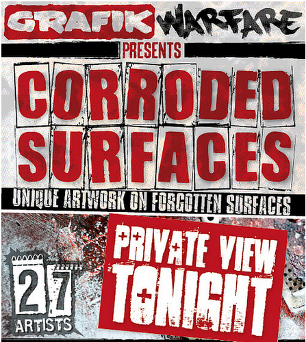 Corroded Surfaces — Graffik Gallery