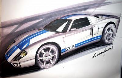 Car sketch tutorial by Michele Leonello