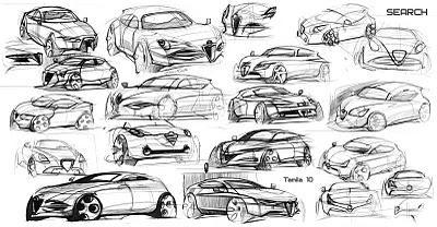Car sketching is your food