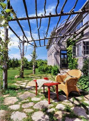 BEAUTIFUL spring outdoor spaces and exteriors