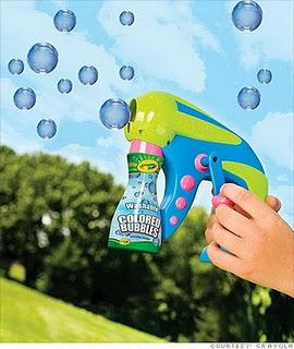 UPDATE:Watch out: Washable Bubbles