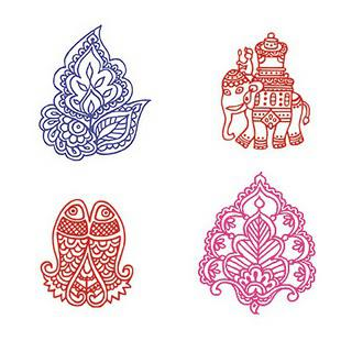 Elephants, and Paisleys, and Lotuses! Oh my!
