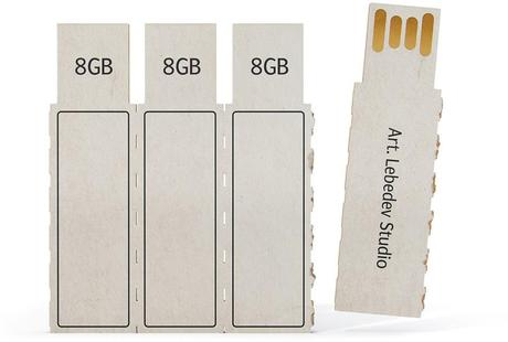Art Lebedev Designers Debut Eco-Friendly USB Memory Sticks