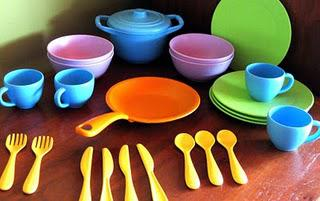 Play Eats: Green Toys play dishes review