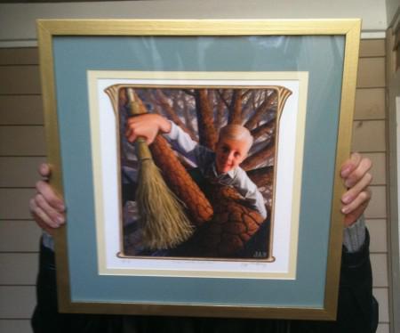 Crispin Framed Print For Sale