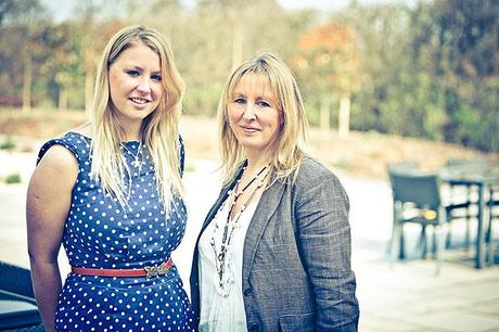 Georgina and Sarah owners of Styal Lodge luxury wedding venue
