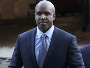 Barry Bonds in a suit for perjury trial