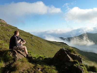 A 6 day traverse in the Northern Drakensberg - February 2011