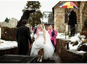 Billy Idol Loves… This Wintry Wedding with Wellies from Kevin Mullins