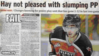 Epic Fail: 25 Sports Headline Disasters