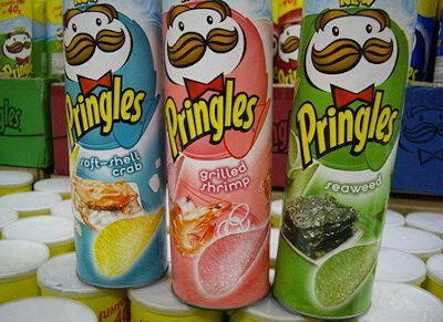 101 Pringles Flavors From Around The World