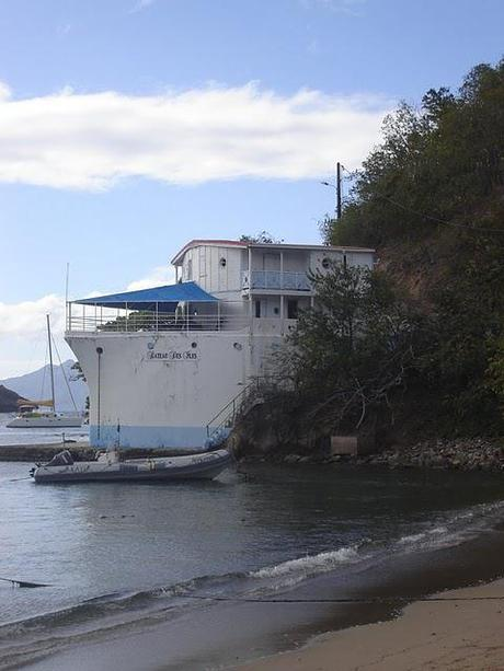 Bateau des Iles - A House made from a Ship at Bourg des Saintes, Iles des Saintes