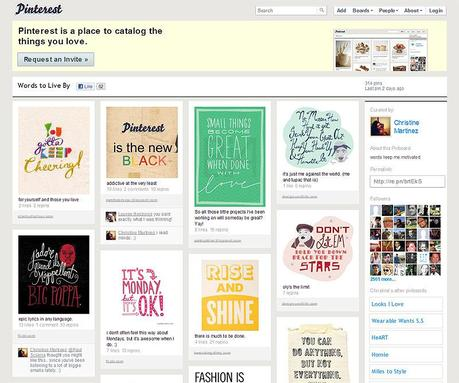 Pinterest share images website