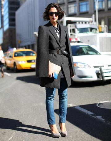 Fashion Week Street Style Denim