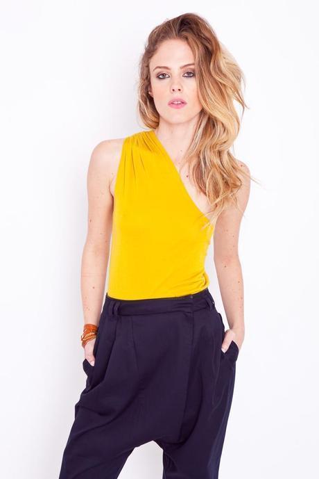 cheap monday yellow shirt