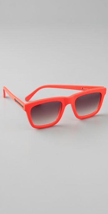 karen walker orange shades