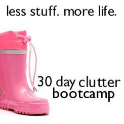 30 Day Clutter Bootcamp