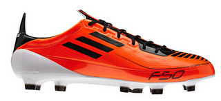 Adidas F50 Adizero Synthetic Warning/Black/White Preview
