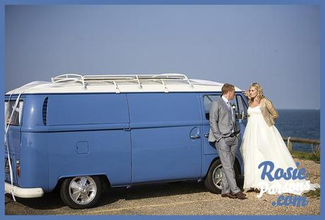 Rob and Sam campervan wedding by Rosie Parsons