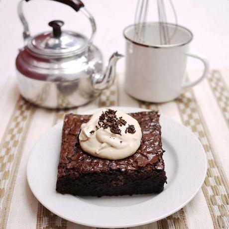 Triple Chocolate Espresso Brownies