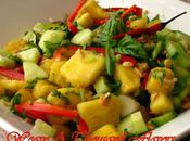 Thai Style Pineapple Cucumber Salad