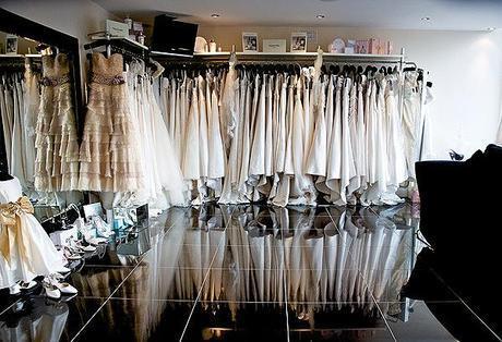 Inside Timeless Bride, Cheshire wedding dress shop