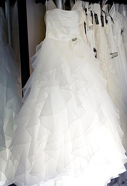 Choose a dress shape that's right for you, then look at the details