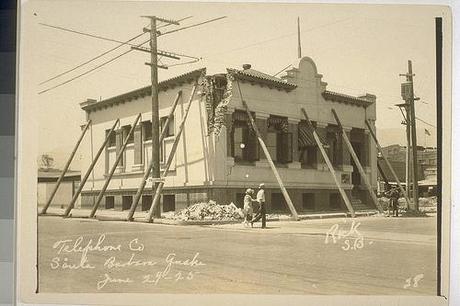 Earthquake Santa Barbara 1925 OAC 5