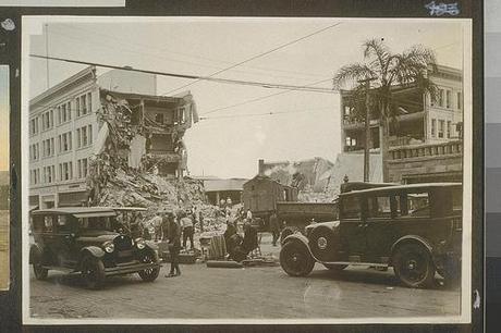 Earthquake Santa Barbara 1925 OAC 8