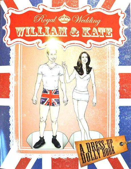 Dress Up Dolly Royal Wedding Book