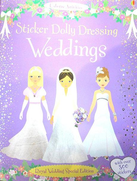 Sticker Dolly Dressing Weddings - Royal Wedding Special Edition