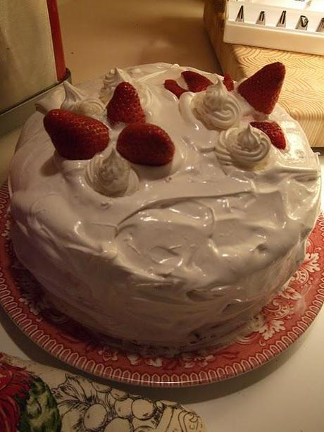 Birthday Cake #17 - Strawberry